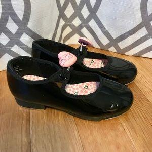 Capezio tap shoes size 9